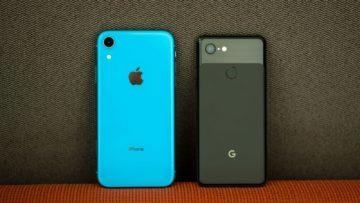 google pixel 3a vs iphone xr