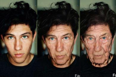 FaceApp filtr stáří agechallenge