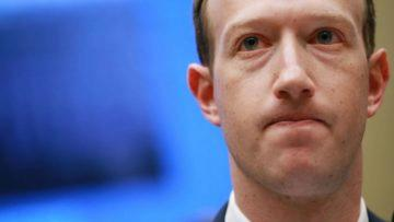 Facebook pokuta - Mark Zuckerberg