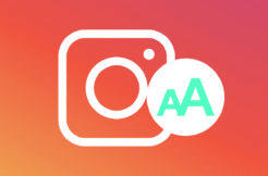 font pro instagram online