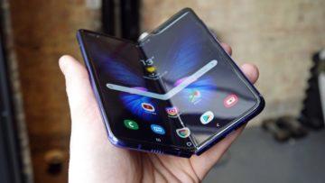 Galaxy Fold od Samsungu - nový design