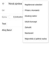 gmail duverny rezim
