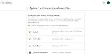 Google aplikace - jak se vymazat z internetu