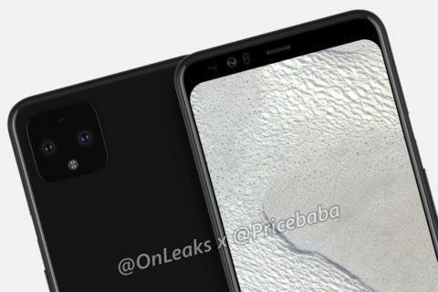 google design většího Pixel 4 XL