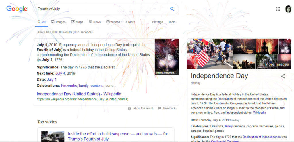 google doodle den nezávislosti