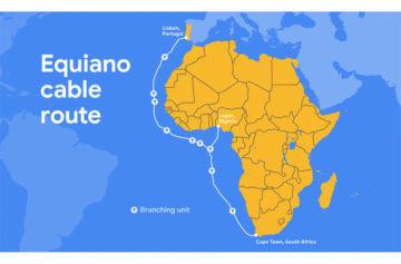 Optická linka Equiano od Google