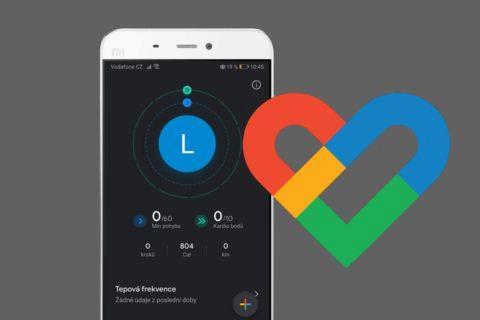 Google Fit - tmavý režim