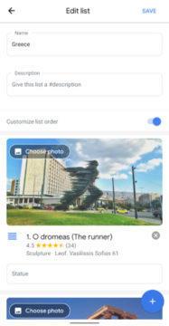 google maps plán cesty