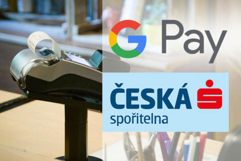 google pay česká spořitelna