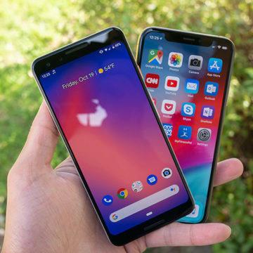 google pixel 3a vs iphone xs