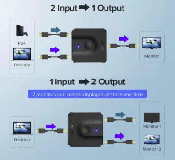 HDMI přepínač