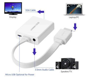 HDMI VGA převodník