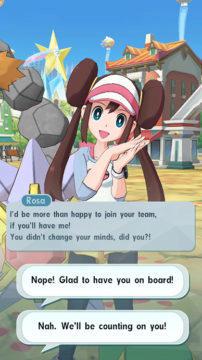 hra pokémon masters čr interaktivní dialog