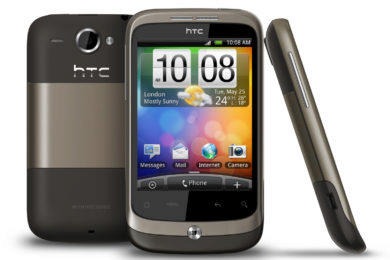 htc wildfire e spekulace