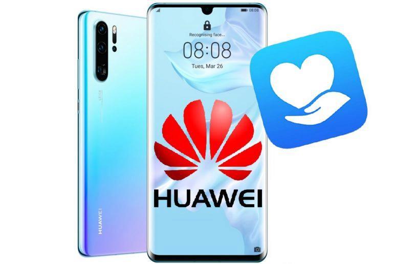 Huawei Cares - výměně displeje zdarma