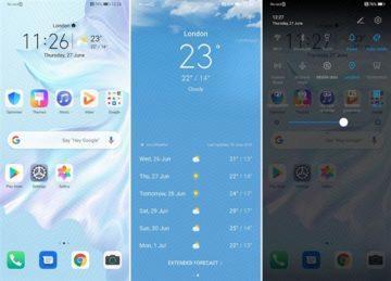 Aktualizace Android Q EMUI 10