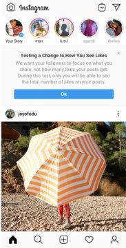 instagram nezobrazuje lajky