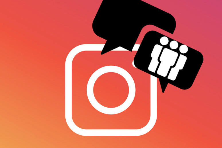 instagram stories skupinový chat