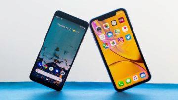 google pixel 3a vs iphone xr