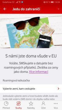 Jak nastavit roaming - Vodafone