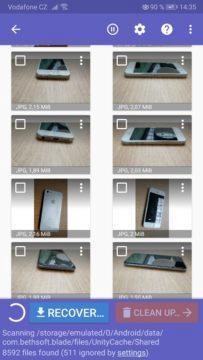 Jak obnovit smazané fotky - telefon