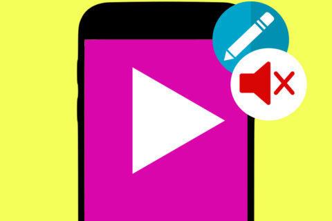 jak odstranit zvuk z videa android