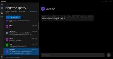 Jak posílat SMS zprávy z počítače - Microsoft, Váš telefon