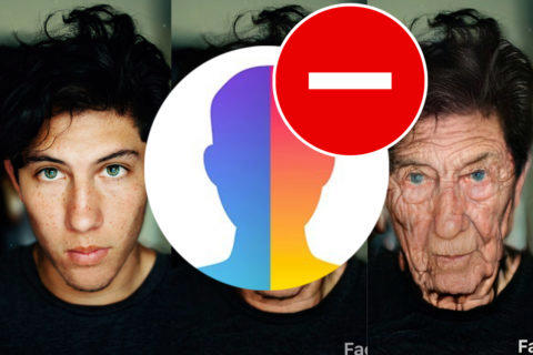 jak smazat fotky z faceapp