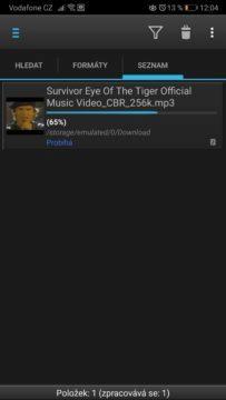 Jak stahovat video z YouTube do Android mobilu