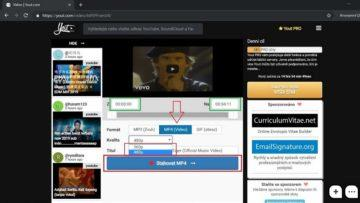Jak stáhnout video z YouTube do počítače (PC)