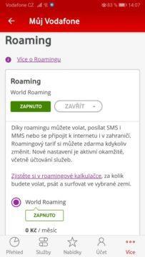 Jal zapnout roaming