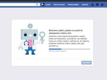 Jak zabezpečit účet - Facebook