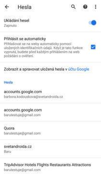 jak zobrazit heslo v google chrome