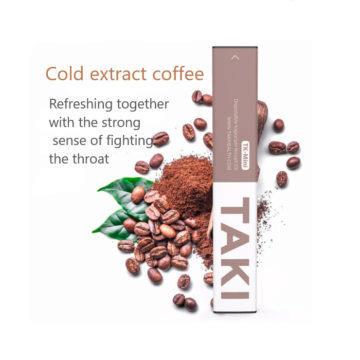 Kávová příchuť - Levná elektronická cigareta Xiaomi Taki Mini