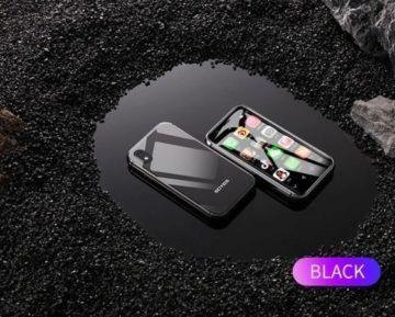 Mini telefon Soyes XS 3 - černá barva