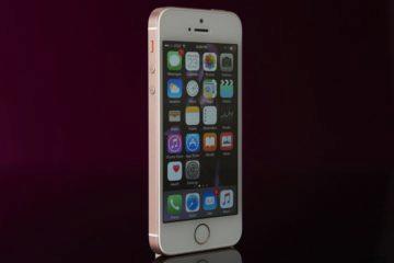 Malé telefony - iPhone SE