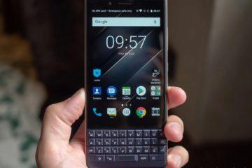 Malý mobil - BlackBerry Key2