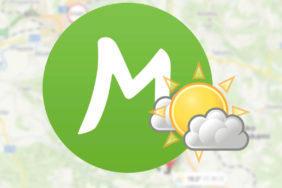 mapy cz počasí trasa