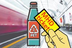 MHD jízdenka výměnou za PET lahev