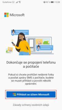 Microsoft - posílání SMS zpráv z počítače