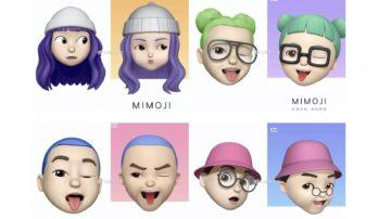 mimoji emoji xiaomi apple