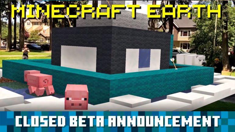 Minecraft Earth: Closed Beta Announcement