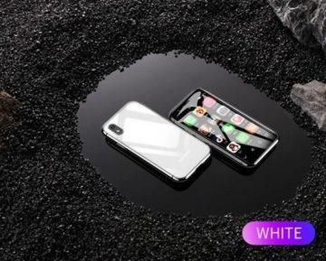 Mini telefon Soyes XS 3 - bílá barva