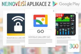 Nejnovější aplikace z Google Play #300: galerie pro správu fotek