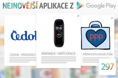 Nejnovější aplikace z Google Play #297: neotřelé ciferníky pro Mi Band 4
