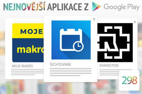 Nejnovější aplikace z Google Play #298: přehled pracovních směn