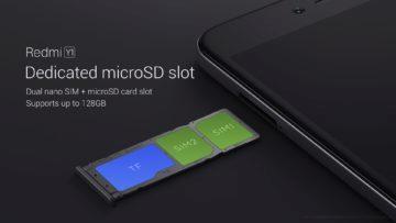Některé telefony mají dedikovaný slot na microSD