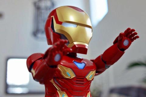 oblek iron man xiaomi robot