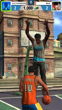 obranná hra basketball stars android