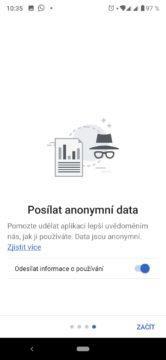 Odesílání dat